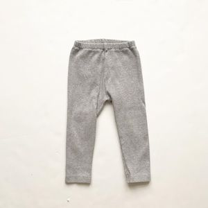 Uniqlo baby gray ribbed leggings VGUC 18-24 months